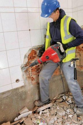 Тънкостите на разглобяването на тухлени конструкции