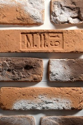 Types and production of antique bricks