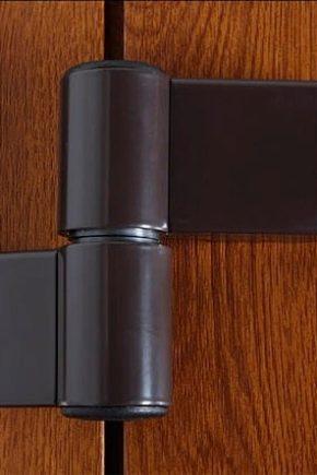 Valitse ja asenna saranat muovisille oville