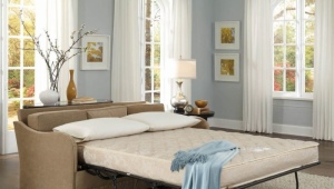 Sofa with the transformation mechanism the French folding bed