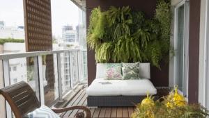 Soffor på balkongen