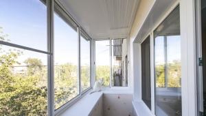 Koud glazen balkons