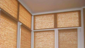 Blinds to the balcony