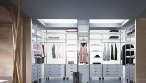 Racks for the wardrobe room