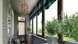 What is the difference between a balcony and a loggia?