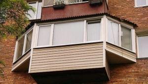 Balcony exterior finish
