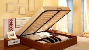 Double beds with a lifting mechanism