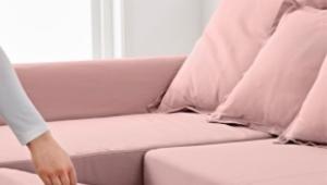 Vykatnaya sofa with box for linen