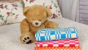Children's flannelette blankets