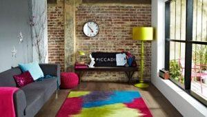 Trendy carpets in modern style