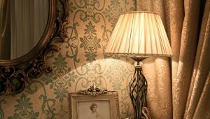 Table lamps in various styles