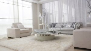 Fluffy carpets: comfort and softness in the interior