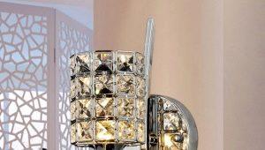 Style et paillettes avec soutiens-gorge en cristal