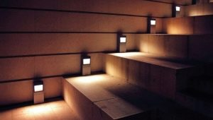 Lamps with motion sensor