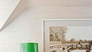 Green table lamps