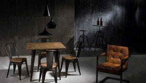 Loft style chair design