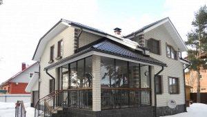 Tambour design in a private house