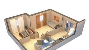 Idei și opțiuni pentru apartamente de reamenajare