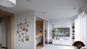 Apartman iç: güzel modern fikirler