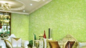 Hur appliceras flytande tapeter på väggen?