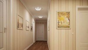 Como escolher o papel de parede para o corredor, expandindo o espaço?