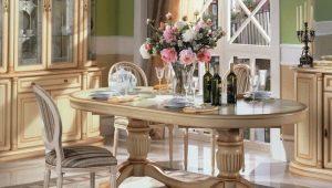 Как да изберем овална маса?