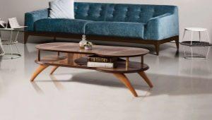 Quelles devraient être les jambes pour la table?