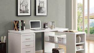 Tables d'ordinateur en bois: caractéristiques à choisir