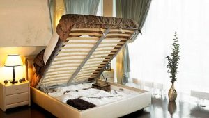 Askona beds with lifting mechanism