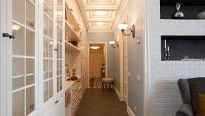 Design elegante para um corredor estreito