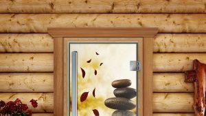 भाप कमरे के दरवाजे की विशेषताएं