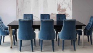 Features of the choice of chair-chairs in the apartment