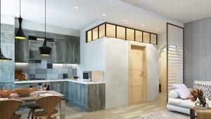 Disposition d'un appartement de 3 pièces à Khrouchtchev: de beaux exemples de design d'intérieur