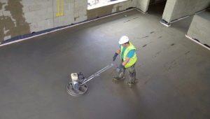 Regler och rekommendationer för slipning av betonggolvet