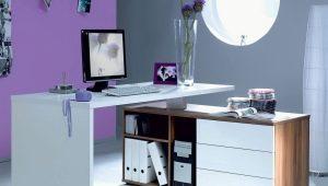 Les avantages d'un bureau d'ordinateur blanc