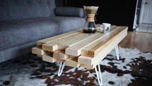 Créer une table en bois avec vos propres mains