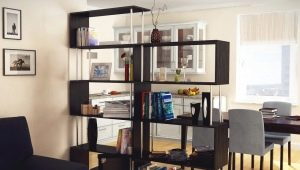 Shelving for a home without a back wall: design ideas
