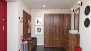 Mobiliário elegante para o corredor