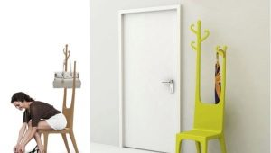 Hanger chair - an original detail for a compact apartment