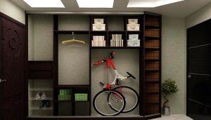 Mobilier étroit dans le hall - une solution pour les petits appartements