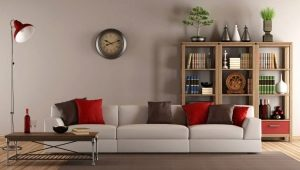 Large wall clock for the living room: original ideas