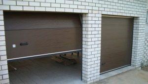 Portes de garage: production à faire soi-même