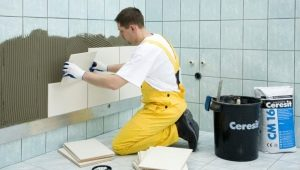How to glue tiles: the details of the process