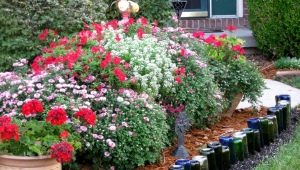 स्क्रैप सामग्रियों से अपने हाथों से फूलों के बिस्तर और फूल के बाग कैसे बनाएं?