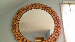 Hur man gör en ram för en spegel med egna händer?