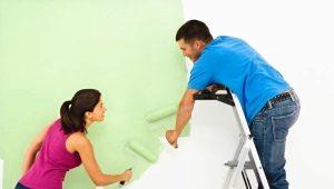 Comment choisir une peinture pour les murs de l'appartement?