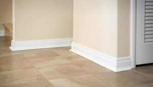 How to choose a plinth for a floor tile?