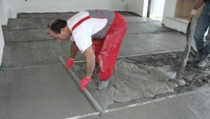 Hur fyller du golvet med egna händer?