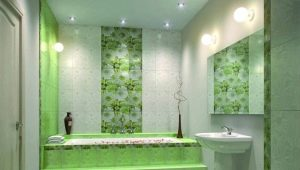 Large size ceramic tiles: beautiful examples in the interior