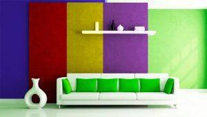 Peinture mate pour murs: les subtilités du design d'intérieur